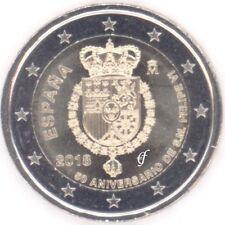 Spanien alle 2 Euro Gedenkmünzen / Sondermünzen - alle Jahre wählen - Neu