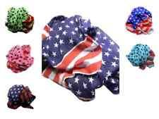 Foulard a stelle e striscie bandiera america vari colori estremi a punta