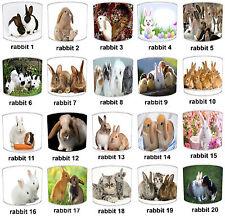 diseño de conejo Pantallas Lámpara Para Combinar infantil Adhesivos pared &