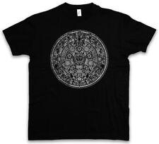 Aztec mandala t-shirt inde Indians American mayas maya sign Calendar mexico