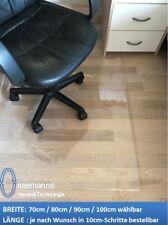 Kunststoff Klar Unterlage Für Bürodrehstuhl Gut Erhalten 75x120 Cm Groß