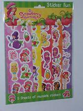 Strawberry Shortcake Sticker Fun
