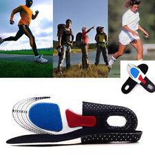 Fashion Gel Orthotic Sport Running Insole Insert Shoe Pad Arch Support CushionSM