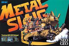 RGC Huge Poster - Metal Slug Original Playstation 2 Arcade - ARC040