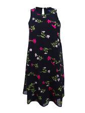 Tommy Hilfiger Women's Floral Embroidered Shift Dress