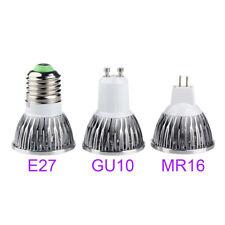E27 GU10 MR16 LED Spotlight Bulb 3W 85-265V 12V COB Lamp Similar To Purple IT