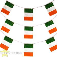 Irlanda Fútbol Euro 2016 país Empavesado Bandera Grande 33FT Decoración 20 Banderas