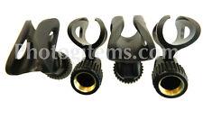 """E835 Microphone holder Flexible 4 packrubber Fits Sennheiser 3/4""""- 1 1/8"""" 5744-4"""