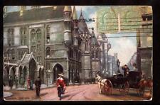 1908 tuck street scene law courts london uk postcard