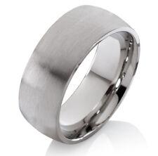 Verlobungsring Ehering Damenring Herrenring aus Edelstahl mit Ring Gravur E014