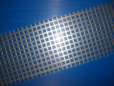 BUCHERT Edelstahl-Lochblech-Qg 10-15 -VA-2,0mm-Größe-Maß-Zuschnitt- Versand frei