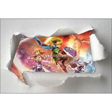 Stickers enfant papier déchiré Zelda réf 7604