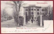 PARMA SALSOMAGGIORE TERME 108 HOTEL ALBERGO Cartolina viaggiata 1902