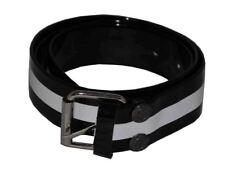 Flosay Shining Bright Snap on Belt Black White