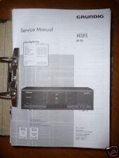 Service MANUAL Grundig fine arts CF 21 Fine Arts Deck