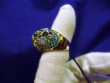 SWAROVSKI RING: CHIC BLUE 829999 SIZE L