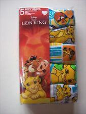 NWT Disney Boys Zootopia 5-Pack Classic Briefs Underwear Size 6