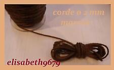 Cordes spéciales ø 2 mm poids  pendule comtoise 4 M noire