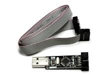 USBASP USB AVR Programmer for Atmel; USB ASP USBISP ISP Arduino Bootloader USA