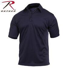 Rothco Short Sleeve Tactical Performance Polo - Men's Midnight Navy Blue Shirt