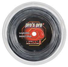 Pro des pros létale 8 16 1.27 mm Cordes de tennis 200m Bobine