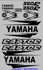 Sticker Decal Graphic Kit for Raptor 350 Fender warrior Fender Tank Emblems