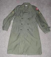 Military 1962 Small Regular Overcoat Fatigue Man's Coat Cold OG107 Vietnam #90