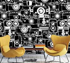 3D Classic Radio Pattern 980 Wallpaper Decal Dercor Home Kids Nursery Mural Home