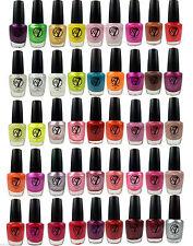 W7 Nail Varnish Polish 15ml  - Choose Your Shade