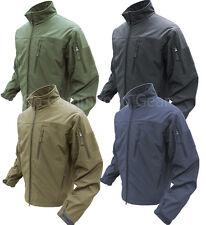 Condor Outdoor Phantom Soft Shell Jacket - Tan OD Black or Navy Tactical Jackets