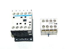 TELEMECANIQUE CA3KN31BD CONTROL RELAY 24V W/ LA1KN22 AUX CONTACT