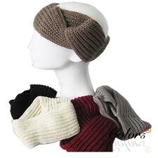 Color5 Ladies Women Winter Corchet Knit Headband Ear Warmer