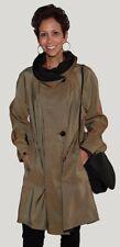 "Mycra Pac 38"" Rain Oak Parka -Reversible to Black, w/ Matching Handbag"