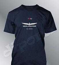 Camiseta personalizado Goldwing 1800 S M L XL XXL hombre moto