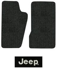 1986-1992 Jeep Comanche Floor Mats - MJ - 2pc - Cutpile