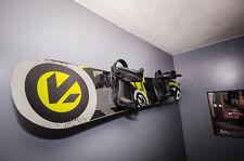 Naked Snowboard | Minimalist Snowboard Wall Display Rack | StoreYourBoard | NEW
