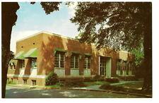 HICKORY NC Elbert Ivey Memorial Library Vtg Postcard