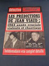 Détective 1962 859 PROPRIANO COUBERT MARCHIENNE AU PONT BESANçON LORIENT