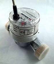 """Durchflussmesser Volumenstromgeber Qn 2,5m³/h 1 oder 2 Imp./L Reed-Kontakt. 1""""AG"""