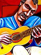 LENNY BREAU PRINT poster jazz seven string guitar sounds cd living room tapes lp