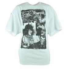 DC Comics Batman Dark Knight Joker Black White Graphic Sketch Tshirt Tee