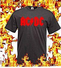 T-SHIRT PERSONALIZZATA AC DC MUSIC  S M L XL XXL XXXL