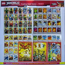 LEGO NINJAGO Serie 4 Trading Card Game Alle Basis-Karten aus 1-252 Auswahl