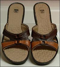 Women Slip-On Open Toe Platform Sandals
