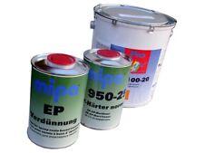 Mipa EP100-20 2K,Epoxy,Grundierung 7 kg,RAL 7032,9005,9010 (12,14EUR/kg)