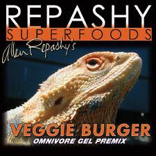 Repashy Veggie Burger Omnivore Gel Premix Bearded Dragon Skink Tortoise Iguana