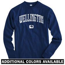 Wellington New Zealand Long Sleeve T-shirt - LS Men S-4X - Gift Kiwi Rugby Lions