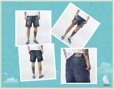 Pantaloncino Short Bermuda Jeans Strappati JunkYard XX -XY Uomo Joey Taglia M L