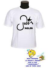 tee shirt enfant judo sport personnalisable prénom réf 149
