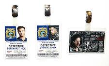 Grimm ID Badge Detective Police Fairy Tale Wesen Cosplay Prop Costume Halloween